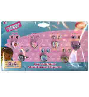 Doc Mcstuffins Days Of Week Earring and