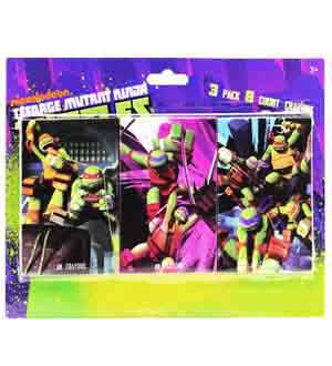 Teenage Mutant Ninja Crayon 8pc 3ct