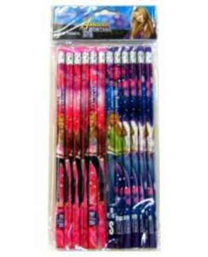 Hanna Montana Pencils 12ct Pn-88-Hm