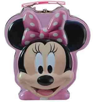 Minnie Head Tin Box