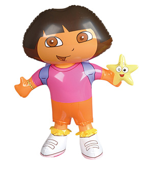 Dora Play Set 24in Inflatable